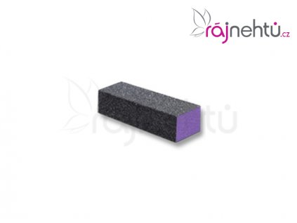 Pilník blok fialový - hrubý 80/80