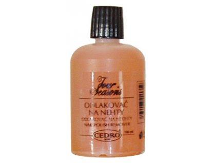 Odlakovač na nehty 100 ml - oranžový