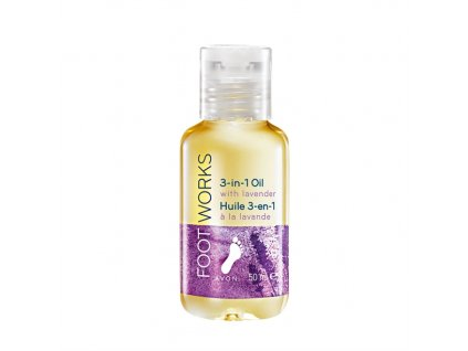 Levandulový olej na nohy 3v1