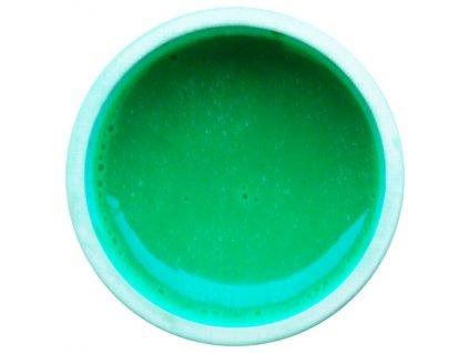 Barevný UV gel GABRA 7,5 ml - kovový tráva