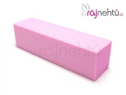 Pilník blok barevný - růžový