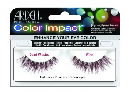 61473 Color Impact Demi Wispies Wine HR