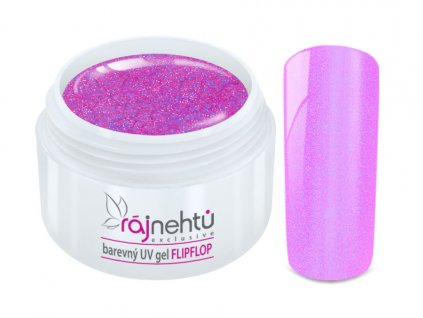 UV gel Flip Flop Pink Růžový