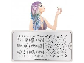 zodiac nail art design 25