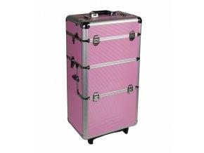 Velký kosmetický kufr - růžový