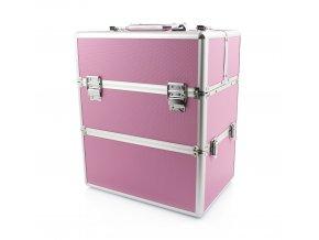 kufřík 2v1 růžový 1