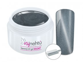 UV gel magneticky cat eye silver