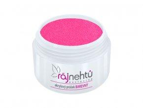 akrylovy prasek barevny Neon Pink