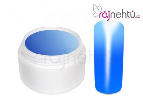 Ráj nehtů - Barevný UV gel THERMO - blue/light blue - 5 ml