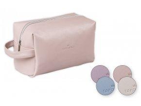 Top Choice Kosmetická taška LEATHER - 96983