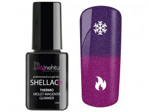 150107 Shellac Violet Magenta Glimmer