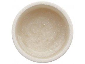 Barevný UV gel GABRA 7,5 ml - glitter bílý