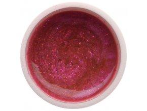Barevný UV gel GABRA 7,5 ml - glitter růžový