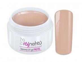 Ráj nehtů Barevný UV gel PASTEL - Brown 5ml
