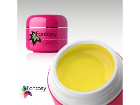Barevný UV gel Fantasy Color 5g - Juice Yellow