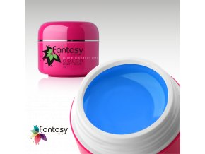 Barevný UV gel Fantasy Color 5g - Light Blue