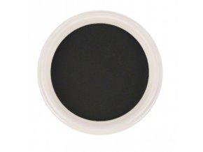 Ráj nehtů - Akrylový prášek - černý 5g