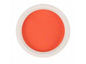 Ráj nehtů - Akrylový prášek NEON - Orange 5g