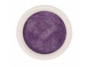 Ráj nehtů - Akrylový prášek GLITTER - Violet 5g