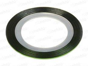 Zdobící páska - zelená