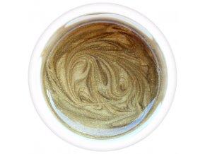 Barevný UV gel GABRA 7,5 ml - barevný zlatý