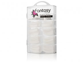 Fantasy Nails - Natural Nail tips French 100ks