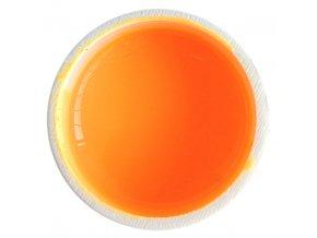 Barevný UV gel GABRA 7,5 ml - oranžová neon