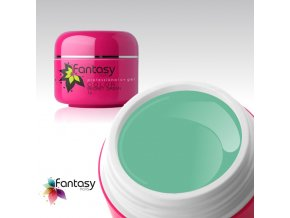 Barevný UV gel Fantasy Color 5g - Secret Green