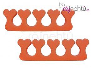 Oddělovač prstů (separátor) - oranžový