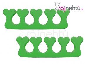 Oddělovač prstů (separátor) - zelený