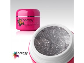 Barevný UV gel Fantasy Glitter 5g - Silverton
