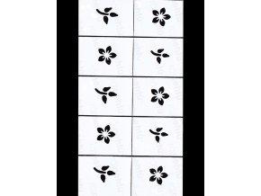 Dekorační šablony na nehty - motiv léto