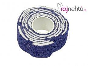 Bandáž s polštářky - modrá