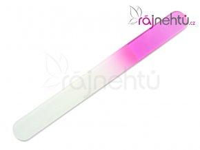 Pilník skleněný velký - růžový