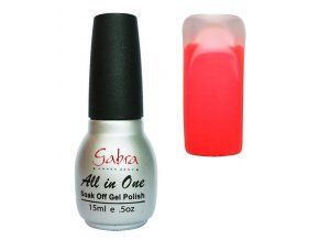 GABRA UV Step lak 3v1 - Neon růžovo-oranžová