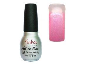 GABRA UV Step lak 3v1 - Neon růžová perleť