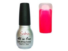 GABRA UV Step lak 3v1 - Neon růžová tmavá
