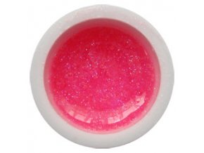 CEDRO sole - Barevný UV gel GLITTER - Růžový - 5 ml