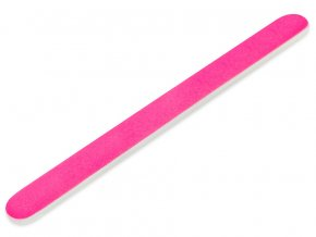 Pilník rovný neon pink/white 180/240