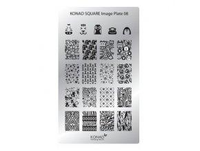 Image destička Konad - XL 8