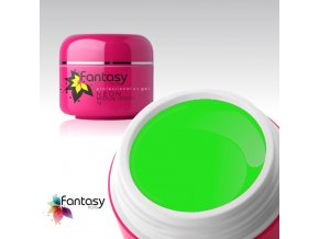Barevný UV gel Fantasy Neon 5g - Medium Green