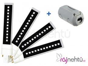UV-LED zářivky pro UVL-36 Promed - 4kusy + feritové jádro