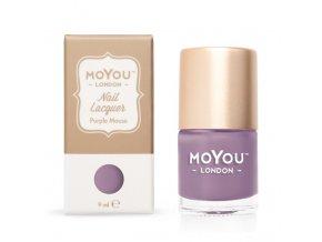 Razítkovací lak na nehty - Purple Mouse 9 ml