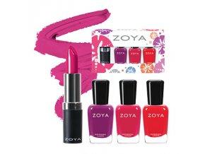 Zoya Sunsets Lips & Tips Quad - CREAMS