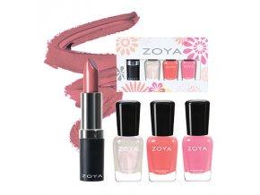 Zoya Petals Lips & Tips Quad - SOFT