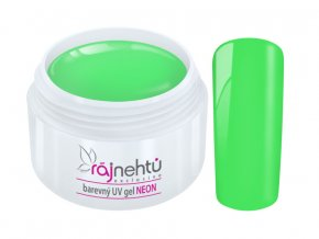 UV gel Neon Green Zeleny