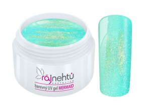 uv gel mermaid blue modry