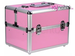 Kosmetický kufřík - růžový II.jakost