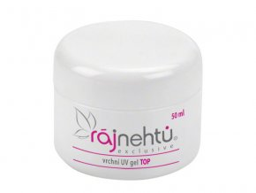 Ráj nehtů UV gel TOP vrchní - 50 ml