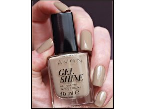 AVON Gel Shine Barely There 05